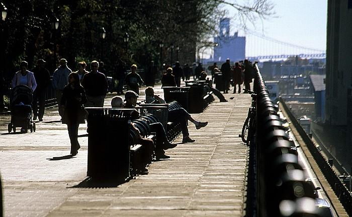 New York Brooklyn Heights Esplanade