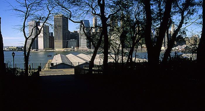 New York Brooklyn Heights East River Manhattan