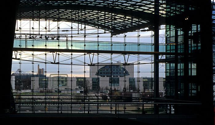 Berlin Hauptbahnhof Bundeskanzleramt Potsdamer Platz Washingtonplatz