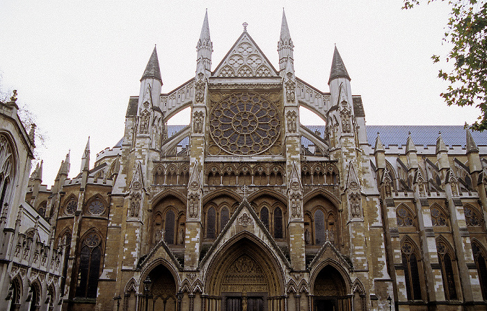 City of Westminster: Westminster Abbey - Nordeingang London 2006