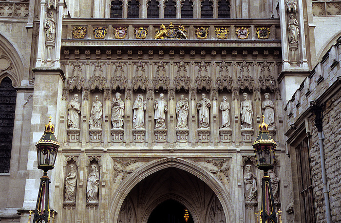 City of Westminster: Westminster Abbey - Westeingang London