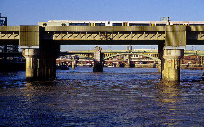 Cannon Street Railway Bridge, Themse London