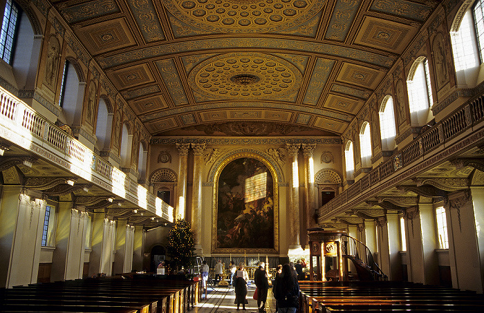 London Old Royal Naval College: Chapel of St Peter and St Paul