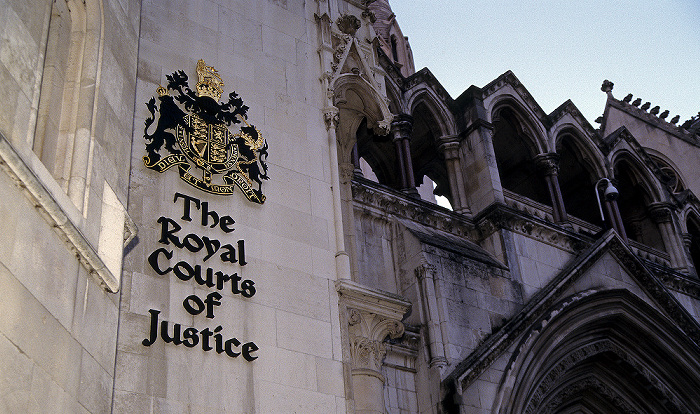 City of Westminster: Royal Courts of Justice London