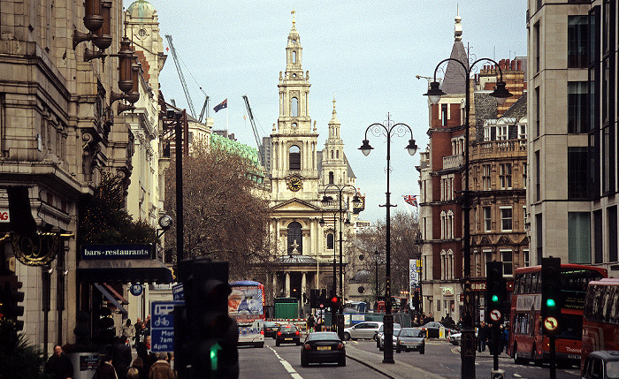 London City of Westminster: Strand, St Mary-le-Strand St Clement Danes