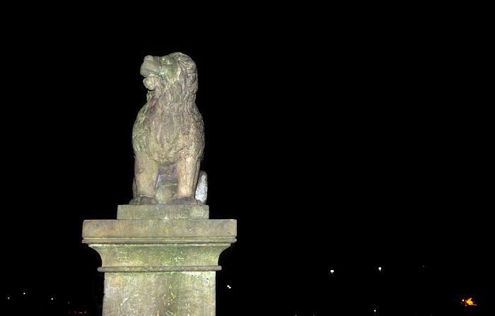Osnabrück Domhof: Löwenpudel