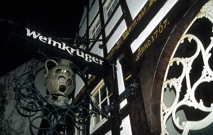 Osnabrück Altstadt: Marienstraße (Weinkrüger)