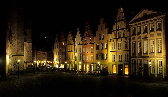 Osnabrück Bürgerhäuser am Markt
