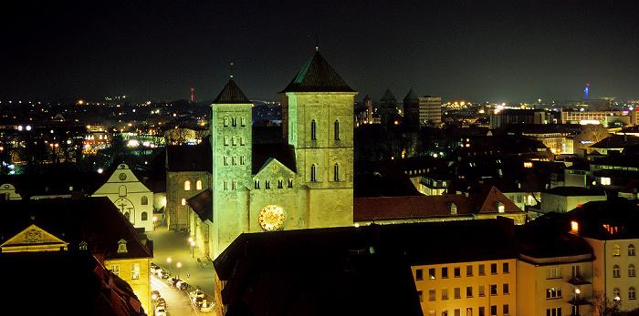 Osnabrück Blick von der Marienkirche: Dom