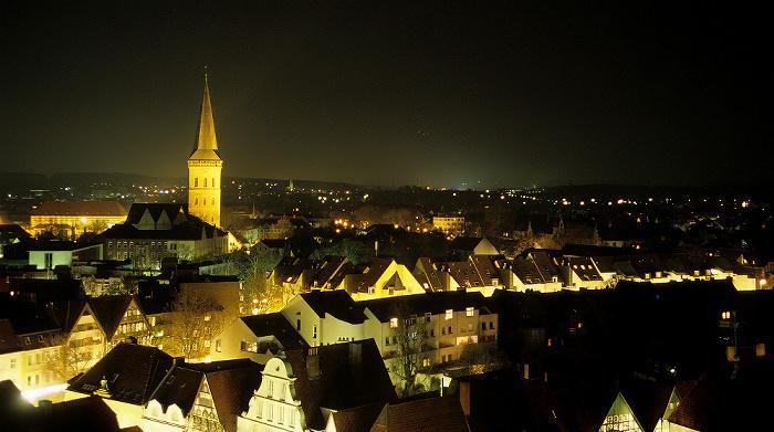 Osnabrück Blick von der Marienkirche: Katharinenkirche Schloss