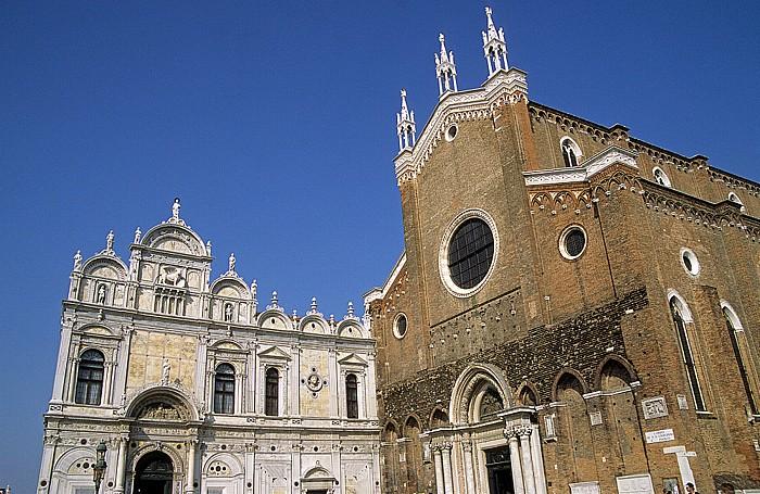 Venedig Castello: Scuola Grande di San Marco und Santi Giovanni e Paolo