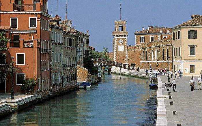 Venedig Castello: Rio dell' Arsenale