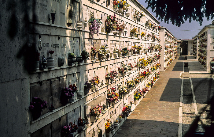 Venedig Isola di San Michele: Friedhof