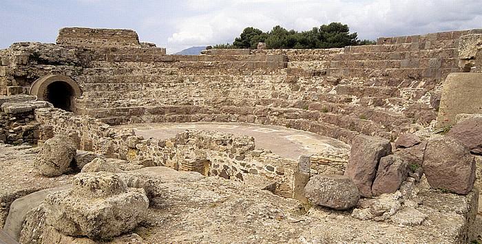 Nora Römisches Theater Ausgrabungsstätte