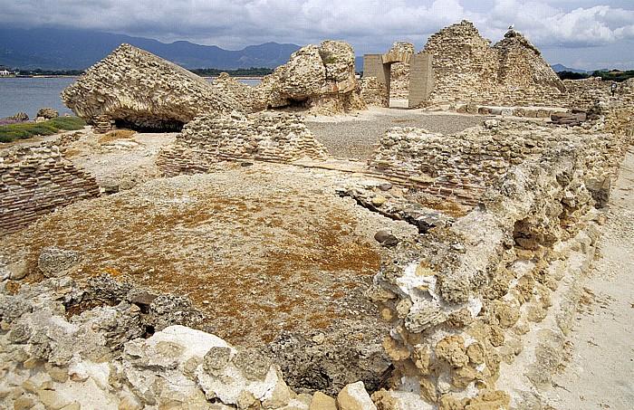 Nora Römische Ausgrabungsstätte