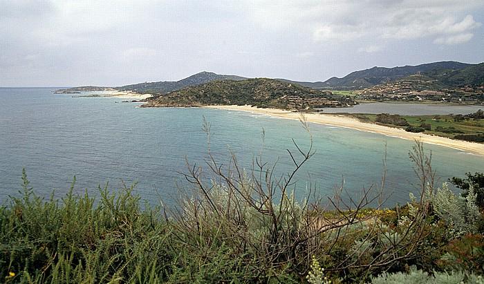 Costa del Sud Mittelmeer, Baia Chia, Stagno di Chia