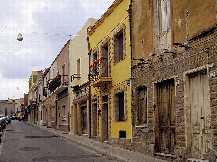 Sant' Antioco Altstadt