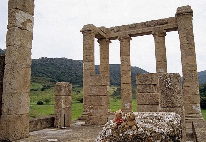 Parco geominerario storico e ambientale Tempio di Antas: Teddine und Teddy