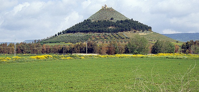 Barumini Kegelförmiger Berg Las Plássas