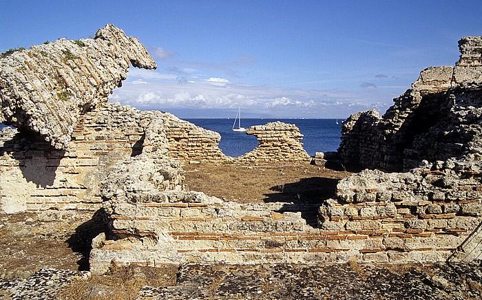 Tharros Ausgrabungsstätte, Golfo di Oristano