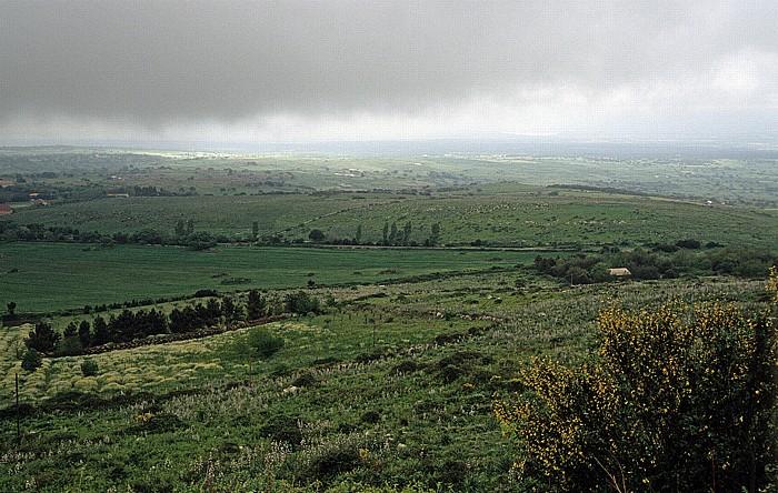 Monte Ferru Blick auf die Planárgia