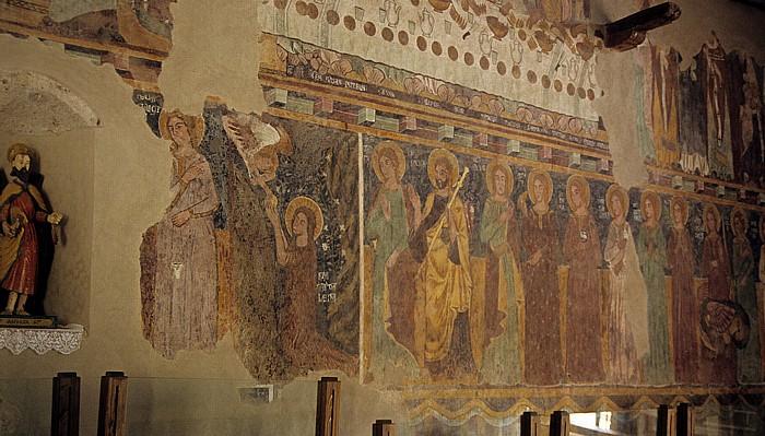Bosa Castello Malaspina (Serravalle): Burgkapelle Nostra Signora die Regnos Altos