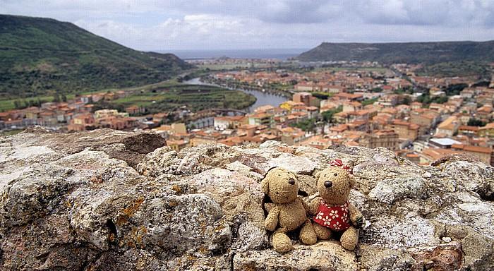 Bosa Castello Serravalle: Teddy und Teddine