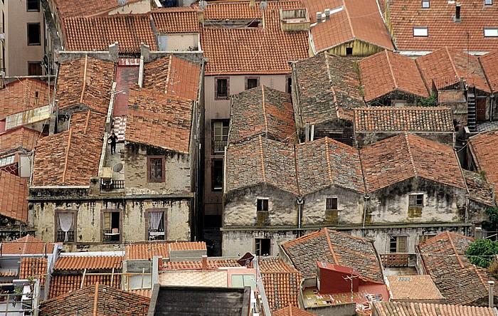 Bosa Blick vom Castello Malaspina (Serravalle): Altstadt