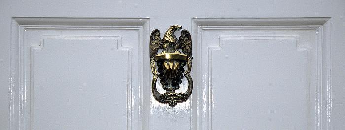 Bath Royal Crescent: Eingangstür