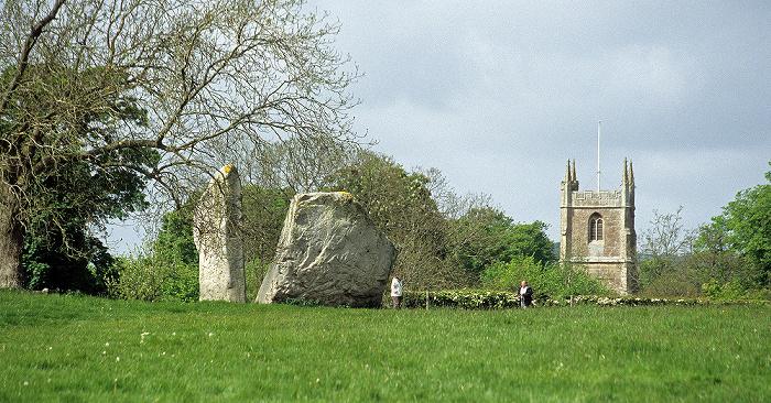 Avebury Innerer kleiner Nordkreis Dorfkirche