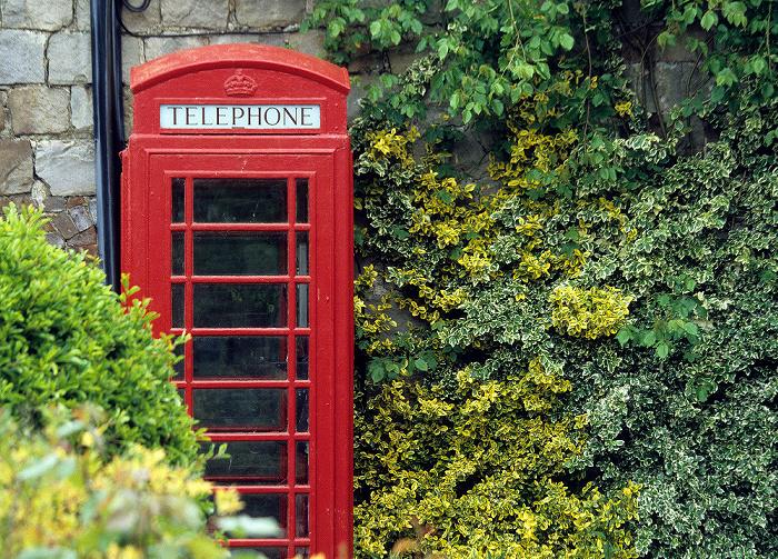 Avebury Telefonzelle