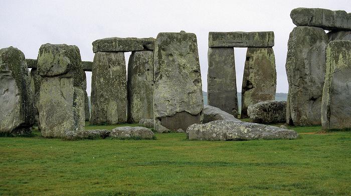 Stonehenge Innere hufeisenförmige Struktur