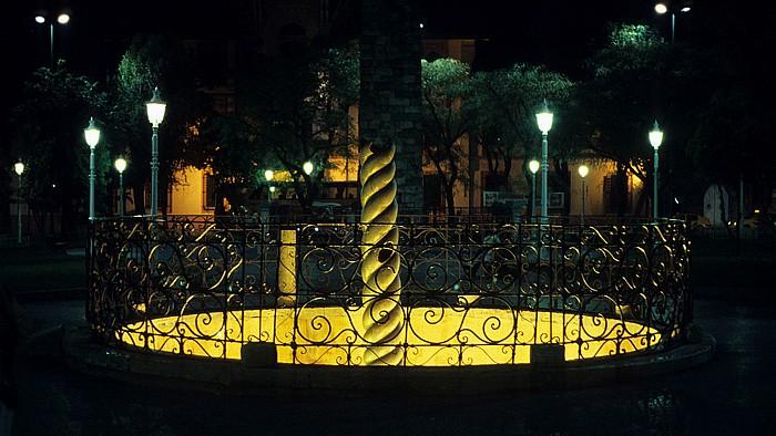 Istanbul Hippodrom: Schlangensäule Gemauerter Obelisk
