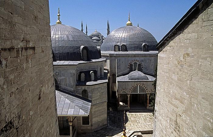Istanbul Hagia Sophia Blaue Moschee