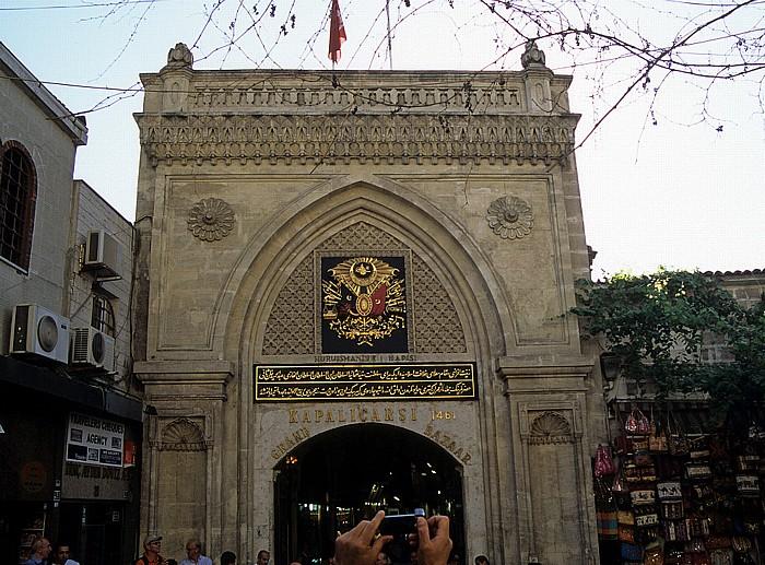 Istanbul Großer Basar: Eingang
