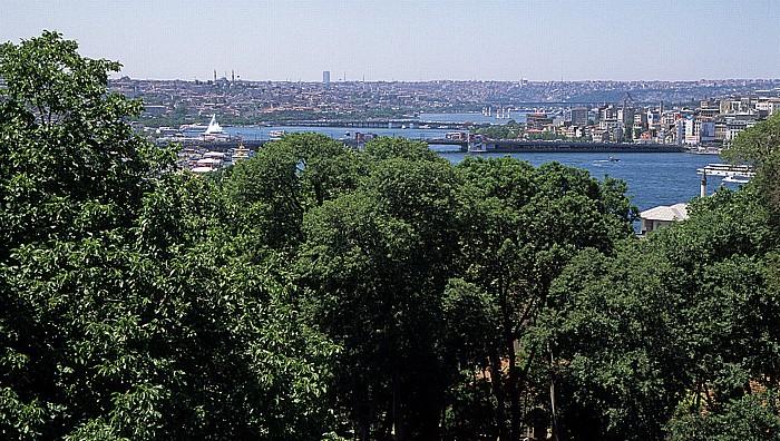 Topkapi-Palast: Blick auf das Goldene Horn Istanbul