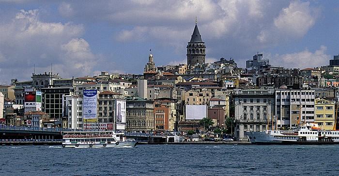Goldenes Horn, Galata Istanbul