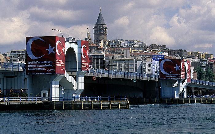 Goldenes Horn: Galata-Brücke, Galata, Galata-Turm Istanbul