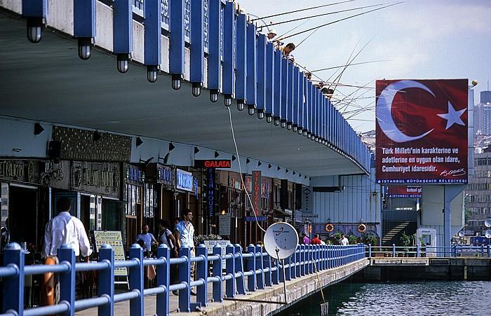 Galata-Brücke Istanbul