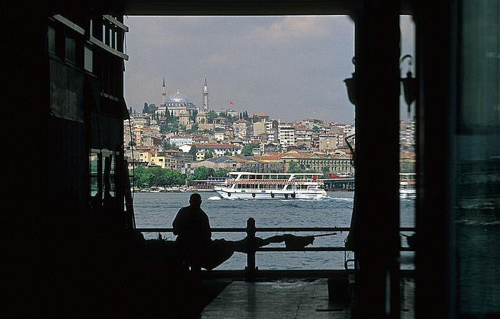 Galata-Brücke, Goldenes Horn Istanbul