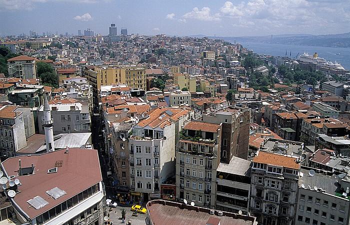 Blick vom Galata-Turm Istanbul