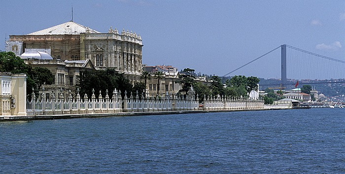 Dolmabahçe-Palast, Bosporus, Bosporus-Brücke Istanbul