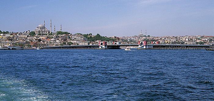 Istanbul Goldenes Horn: Sultanahmet-Moschee, Galata-Brücke