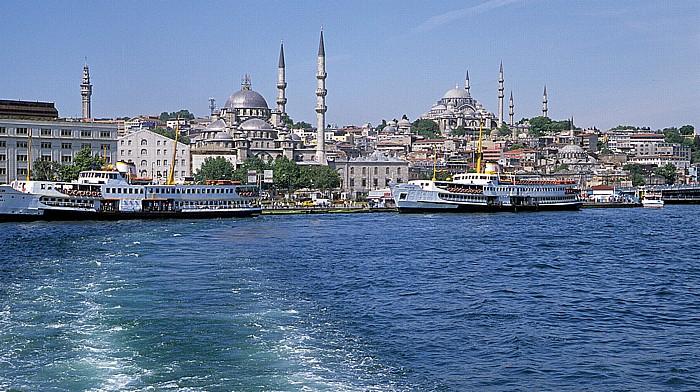 Istanbul Goldenes Horn: Neue Moschee, Sultanahmet-Moschee