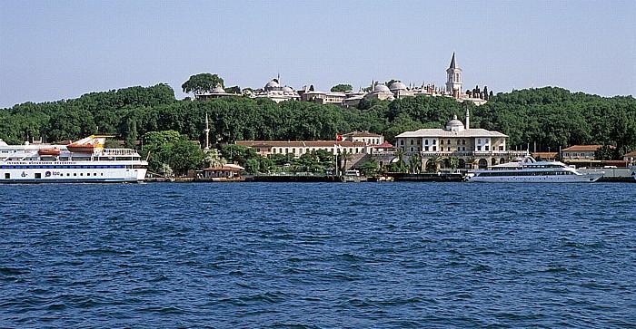 Istanbul Goldenes Horn: Topkapi-Palast