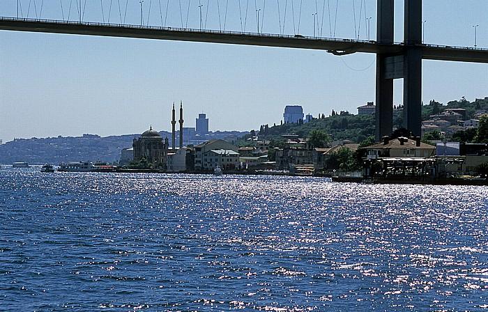 Istanbul Bosporus Bosporus-Brücke Ortaköy-Moschee