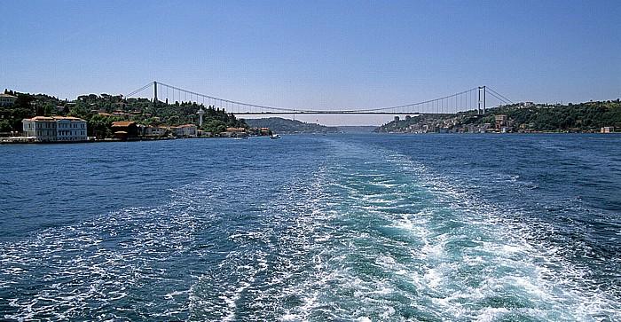 Bosporus Fatih-Sultan-Mehmet-Brücke