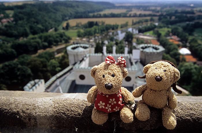 Hluboka nad Vltavou Schloss Hluboká: Schlossturm: Teddine, Teddy
