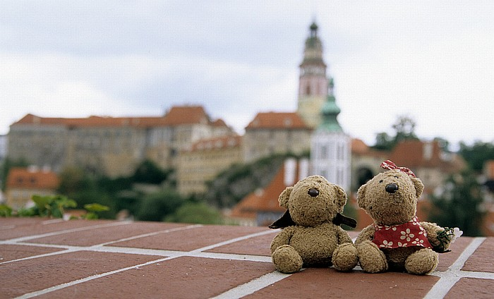 Krumau an der Moldau Altstadt: Teddy, Teddine