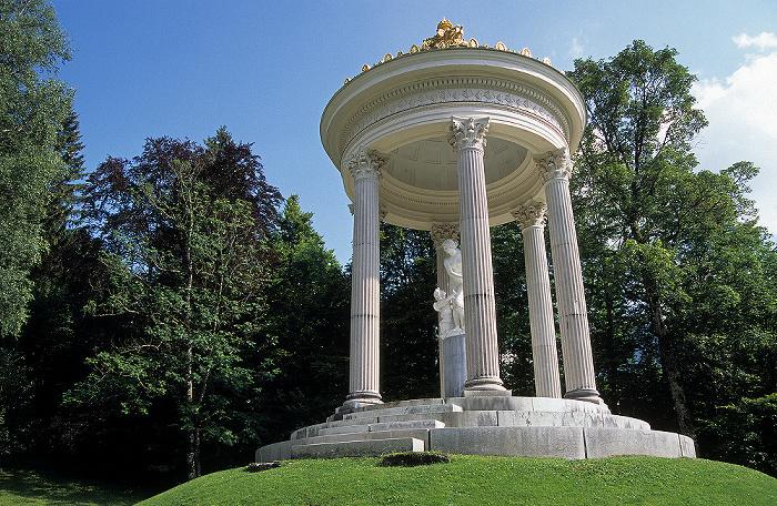 Linderhof Schlossgarten: Venustempel